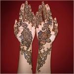New Arabic Style Mehndi Designs