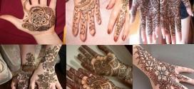 Latest Pakistani and Indian Mehndi Designs 2015