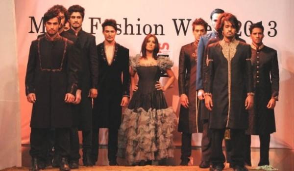Pakistan first Mens fashion week 2013
