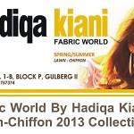 Fabric World by Hadiqa Kiani: Lawn-Chiffon 2013 Collection