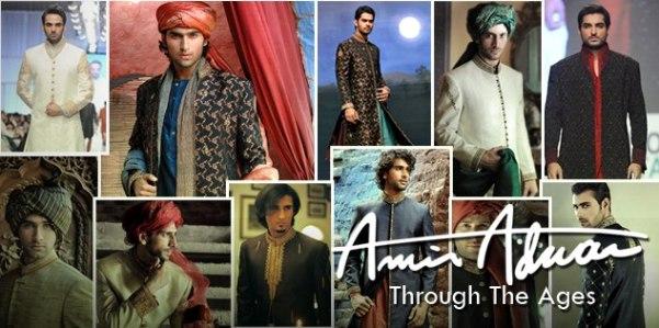 amir adnan sherwani designs