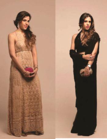 Salina Taqi Wears Delphi