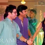 Sana Khan & Babar Khan Wedding Mehndi Pictures
