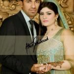 wahab riaz wedding walima pics