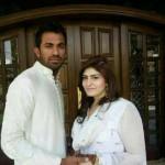 wahab riaz wife pics