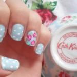 Cath Kidston Polka & Rose Floral Nail Art Designs