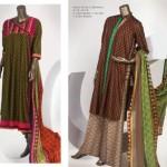 J. Junaid Jamshed Soully East Lawn Dresses 2014