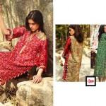 LSM Fabrics Komal Lawn, Chiffon, Embroidered 2014
