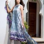 Mahnoush Lawn Spring/Summer Dresses 2014