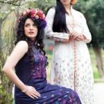 Designer Taana Baana Spring Dresses Designs 2014