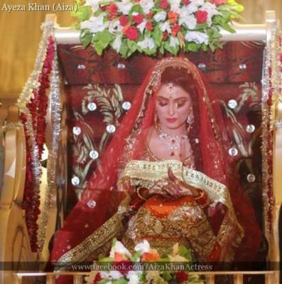 Aiza Khan & Danish Taimoor Baraat Walima Pics