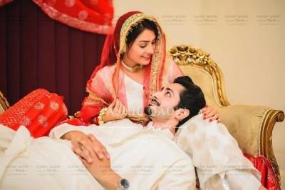 Aiza Khan Danish Taimoor Wedding Pics