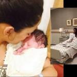 Mathira Baby Boy Pics