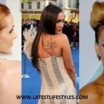 Hollywood Celebrity Tattoos Designs