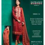 Bonanza Satrangi New Winter Collection 2014-15