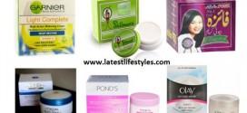Best Skin Whitening Creams in Pakistan