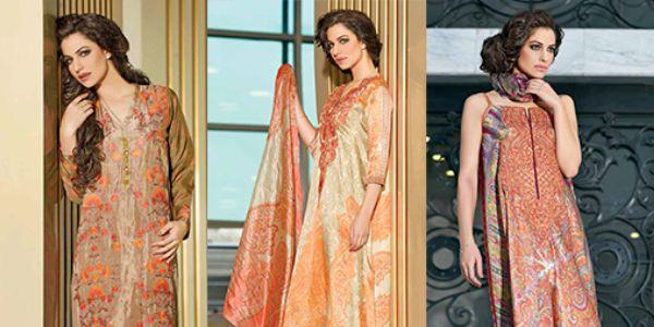 Sobia Nazir Studio Winter Silk Collection 2014-15