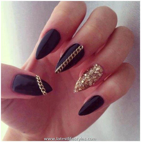 wedding acrylic nail polish designs life with style