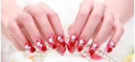 Bridal Nail Art Ideas – Wedding Nails Polish Designs 2015