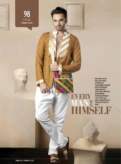 hsy men kurtas and shalwar kameez collection for 2013