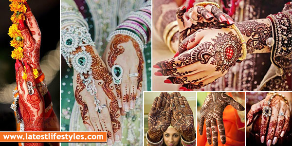 New Bridal Mehndi Designs 2016 For Your Wedding Day | Life ...