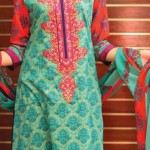 VS Fabrics Designer Series Summer Lawn 2014 Dresses