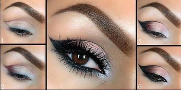 smokey eye makeup step by step tutorial with pictures
